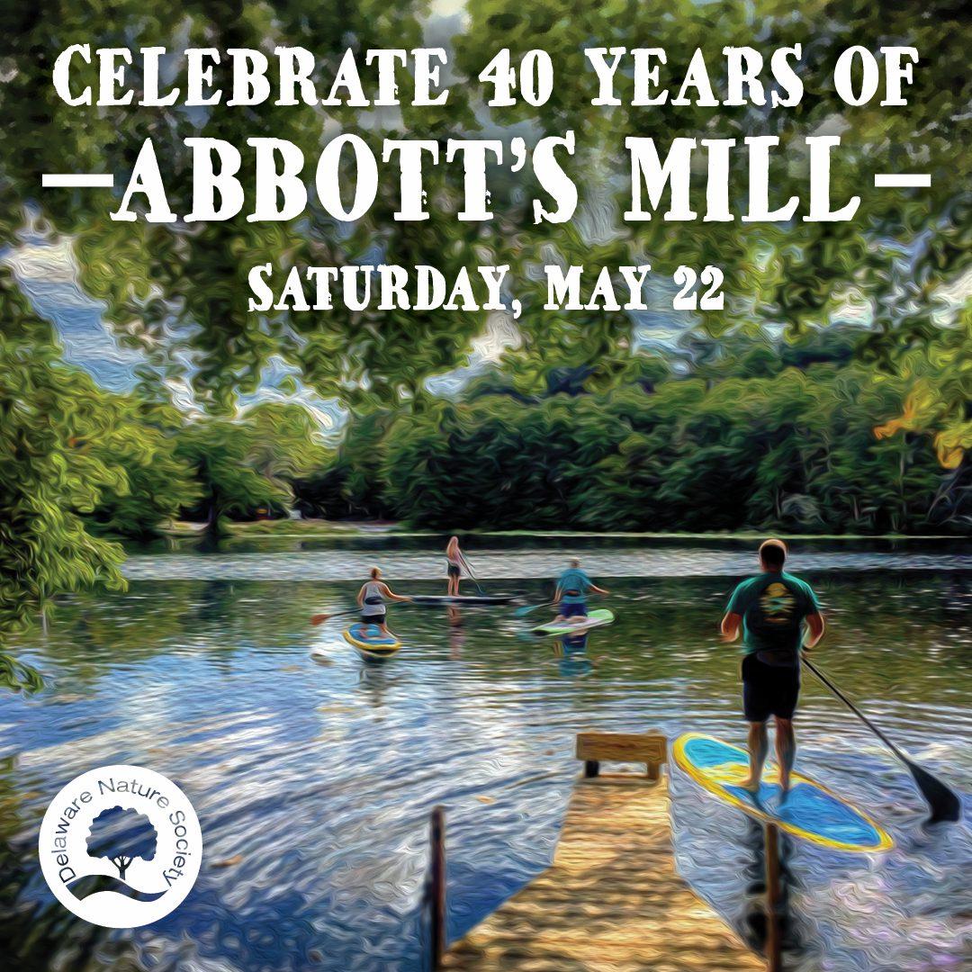 Abbott's Mill Nature Center's 40th Anniversary - Facebook Ad
