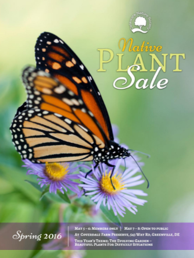 DelNature Native Plant Sale Catalogue Cover