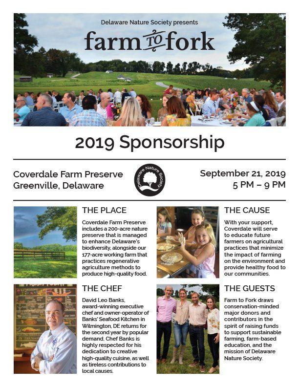 Farm To Fork Sponsorship Packet Front