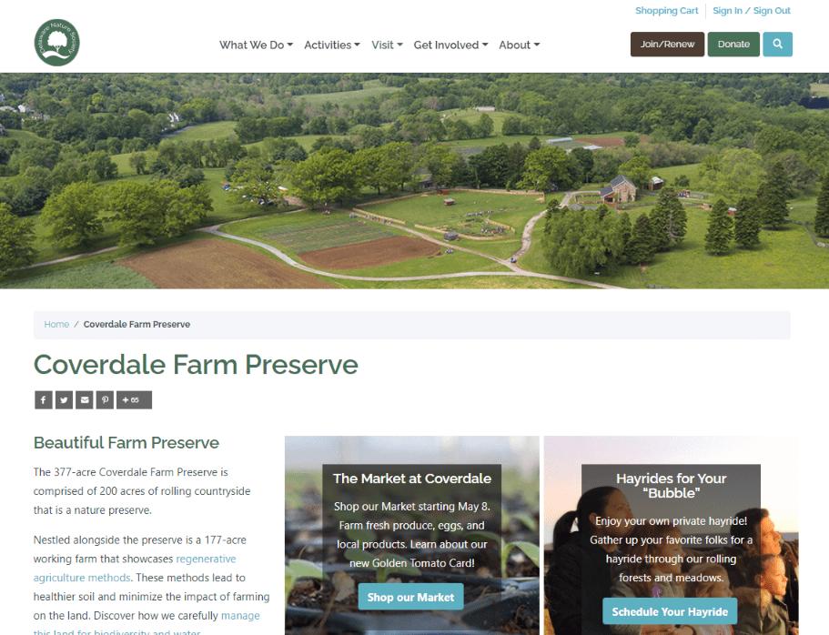 DelNature Website Coverdale Farm